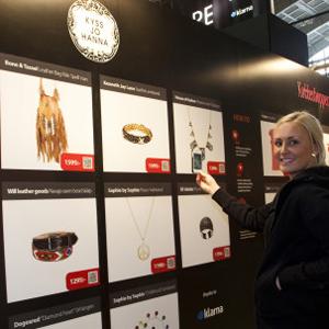 QR Parduotuvė Jetshop Švedijoje