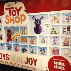 QR parduotuvė ToysRUs JAV